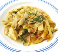 Mancare olteneasca de fasole verde (pastai)