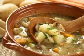 Supa ardeleneasca de cartofi